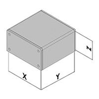 Wandgehäuse EC30-8xx