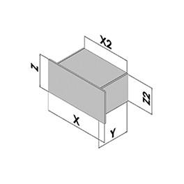 Rackschubladen EC50-740-1