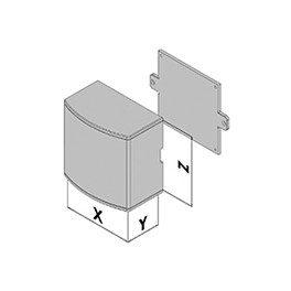 Wandgehäuse EC30-410-34