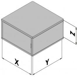 Wandgehäuse EC30-430-0