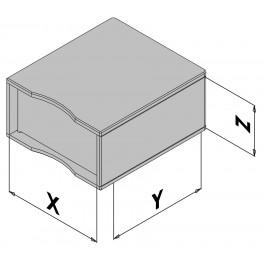 Wandgehäuse EC30-430-6