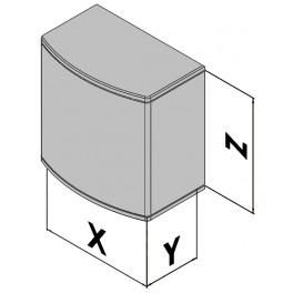 Wandgehäuse EC30-470-37