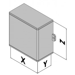 Wandgehäuse EC30-470-04