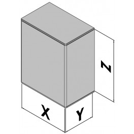 Wandgehäuse EC30-470-07