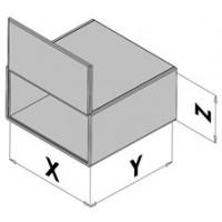 Kastengehäuse mit Türe EC30-8xx
